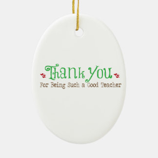 Adorable Gift for Teachers Ornament