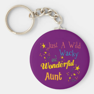 Adorable Gifts For Aunts Basic Round Button Keychain