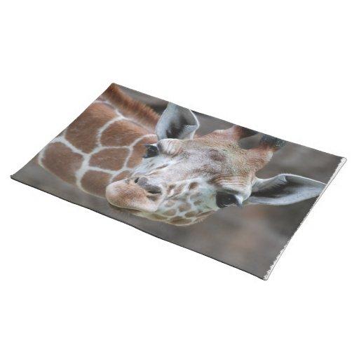 Adorable Giraffe Placemat