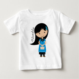 Adorable Girl Baby T-Shirt