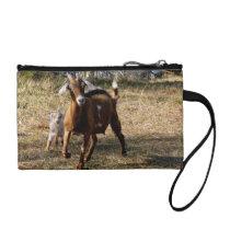Adorable Goats Wristlet