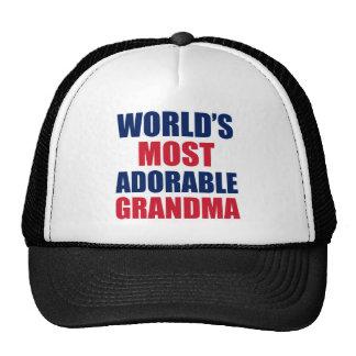 Adorable Grandma Trucker Hat