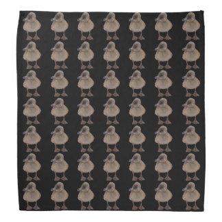 Adorable Gray Duckling Photograph Bandana