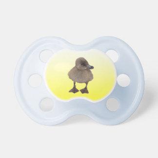 Adorable Gray Duckling Photograph Pacifier