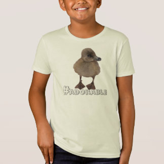 Adorable Gray Duckling Photograph T-Shirt