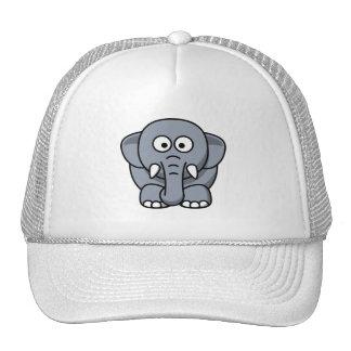 Adorable Gray Elephant Trucker Hat