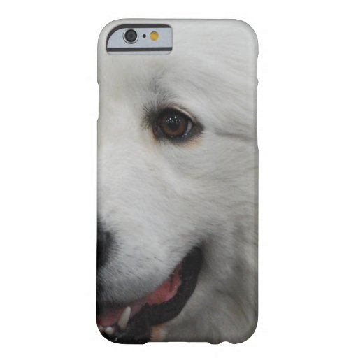 Adorable Great Pyrenees Dog iPhone 6 Case