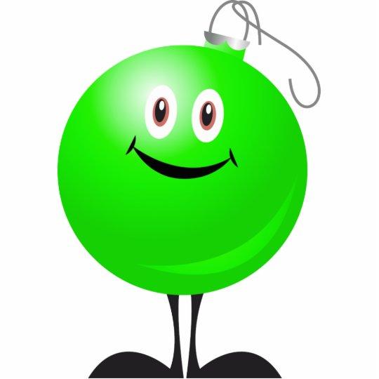 Adorable Green Christmas Ornament