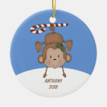 Adorable Hanging Monkey  Ornament
