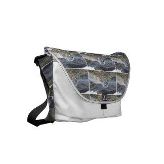 Adorable Harbor Seal Small Messenger Bag