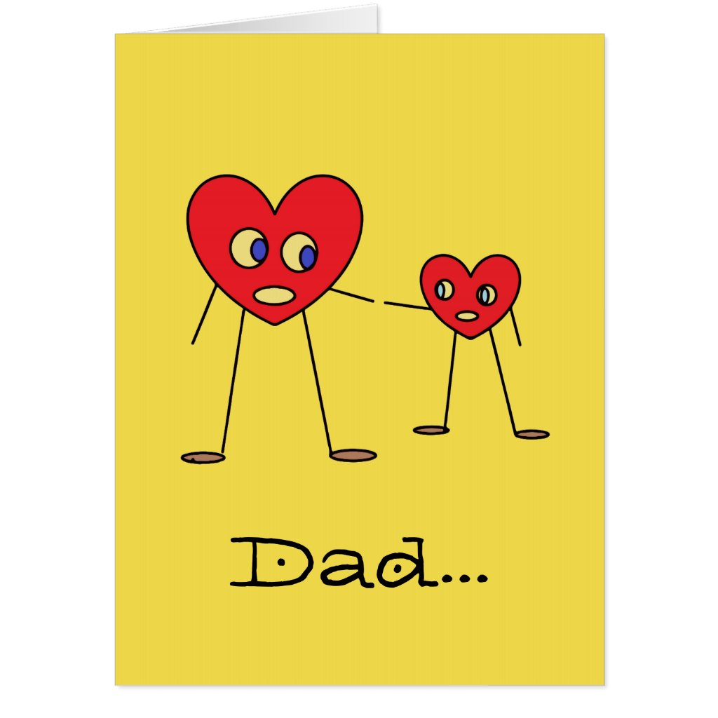 Cute GIANT Card for Dad