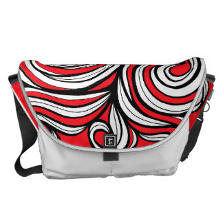 Adorable Hearty Bubbly Engaging Messenger Bag