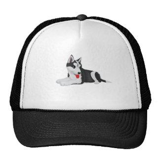 Adorable Husky Pup Trucker Hat