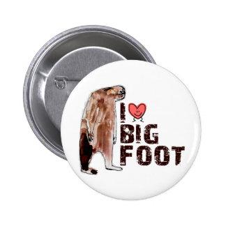 Adorable! I LOVE <3 BIGFOOT design Finding Bigfoot Pinback Buttons