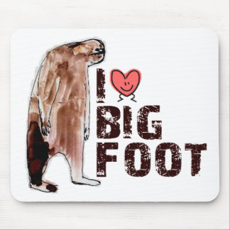 Adorable! I LOVE <3 BIGFOOT design Finding Bigfoot Mouse Pad