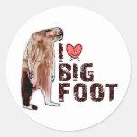 Adorable! I LOVE <3 BIGFOOT design Finding Bigfoot Sticker