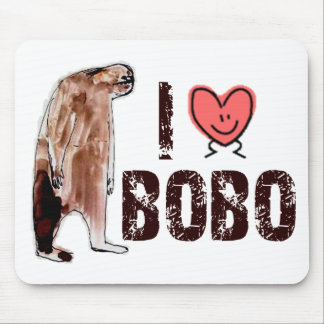 Adorable!  I LOVE <3 BOBO design - Finding Bigfoot Mouse Pad