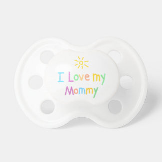 Adorable I Love My Mommy Pacifier