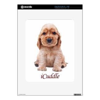 Adorable iCuddle Cocker Spaniel iPad Decals