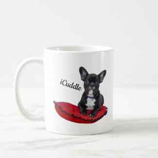 Adorable iCuddle French Bulldog Coffee Mug