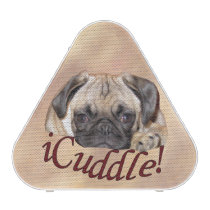 Adorable iCuddle Pug Puppy Bluetooth Speaker