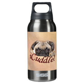 Adorable iCuddle Pug Puppy Insulated Water Bottle