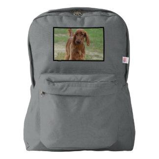 Adorable Irish Setter Backpack