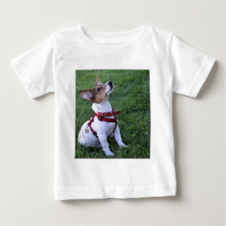 adorable jack russell terrier  puppy obedient dog t-shirt