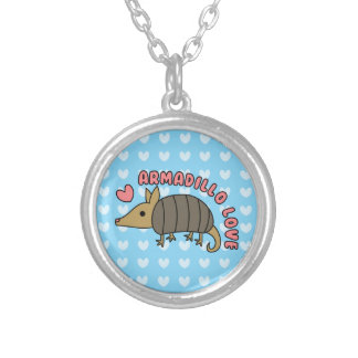 Adorable Kawaii Armadillo Necklace