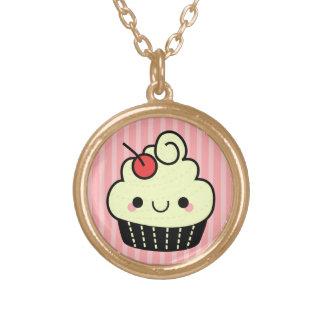 Adorable Kawaii Cupcake Necklace