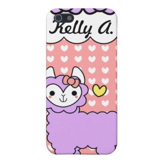Adorable Kawaii Llama iPhone Case iPhone 5 Case