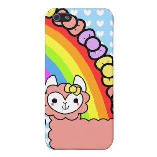 Adorable Kawaii Llama iPhone Case iPhone 5 Cover