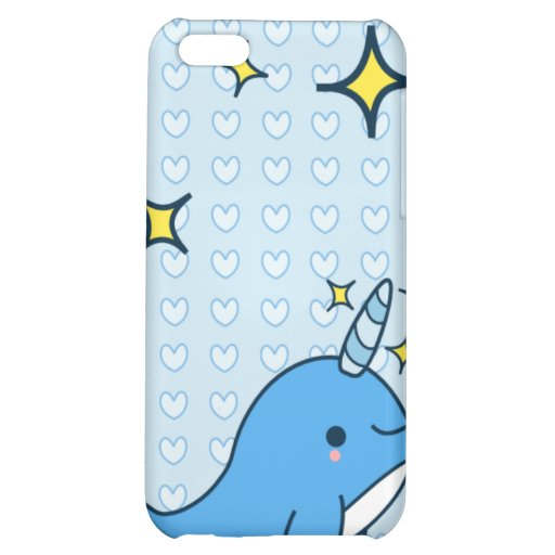 Adorable Kawaii Narwhal Speck Case Cover For iPhone 5C