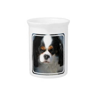 Adorable King Charles Spaniel Pitcher