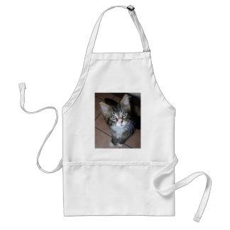 Adorable kitten apron