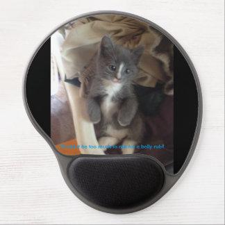 Adorable kitten mousepad gel mouse pad