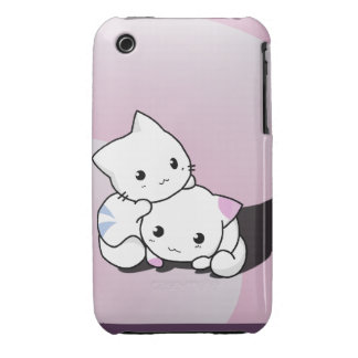 Adorable Kittens Case-Mate iPhone 3 Cases