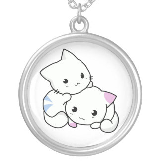 Adorable Kittens Necklace