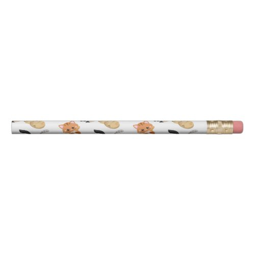 Adorable Kitty Cats Print Pencil