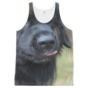 Adorable Leonberger All-Over-Print Tank Top