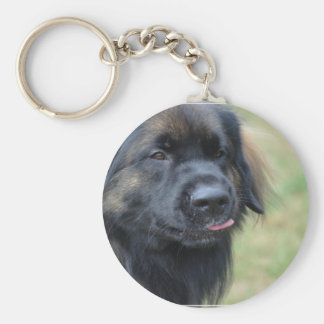 Adorable Leonberger Key Chain