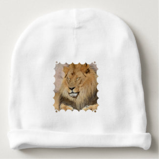 Adorable Lion Baby Beanie
