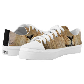 Adorable Lion Low-Top Sneakers