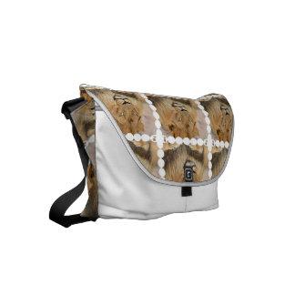 Adorable Lion Small Messenger Bag