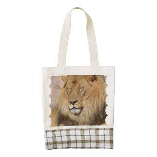 Adorable Lion Zazzle HEART Tote Bag