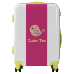 Adorable Little Birdie Cute Baby Chic Bird Luggage