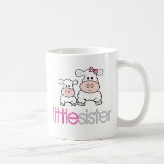 Adorable Little Sister Sheep T-shirt Classic White Coffee Mug
