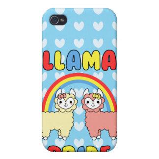 Adorable Llama Pride Speck Case Case For iPhone 4