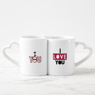 Adorable Love Quotes Lovers Mugs