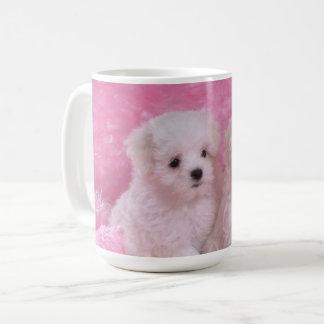 Adorable Maltese Puppies Mug